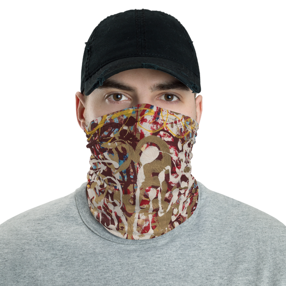 """Yellow Baby Buggy Bumpers"" Neck Gaiter Face Mask"