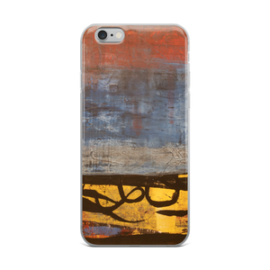 """Electric Silhouette of Bifurcated Interior"" iPhone Case"