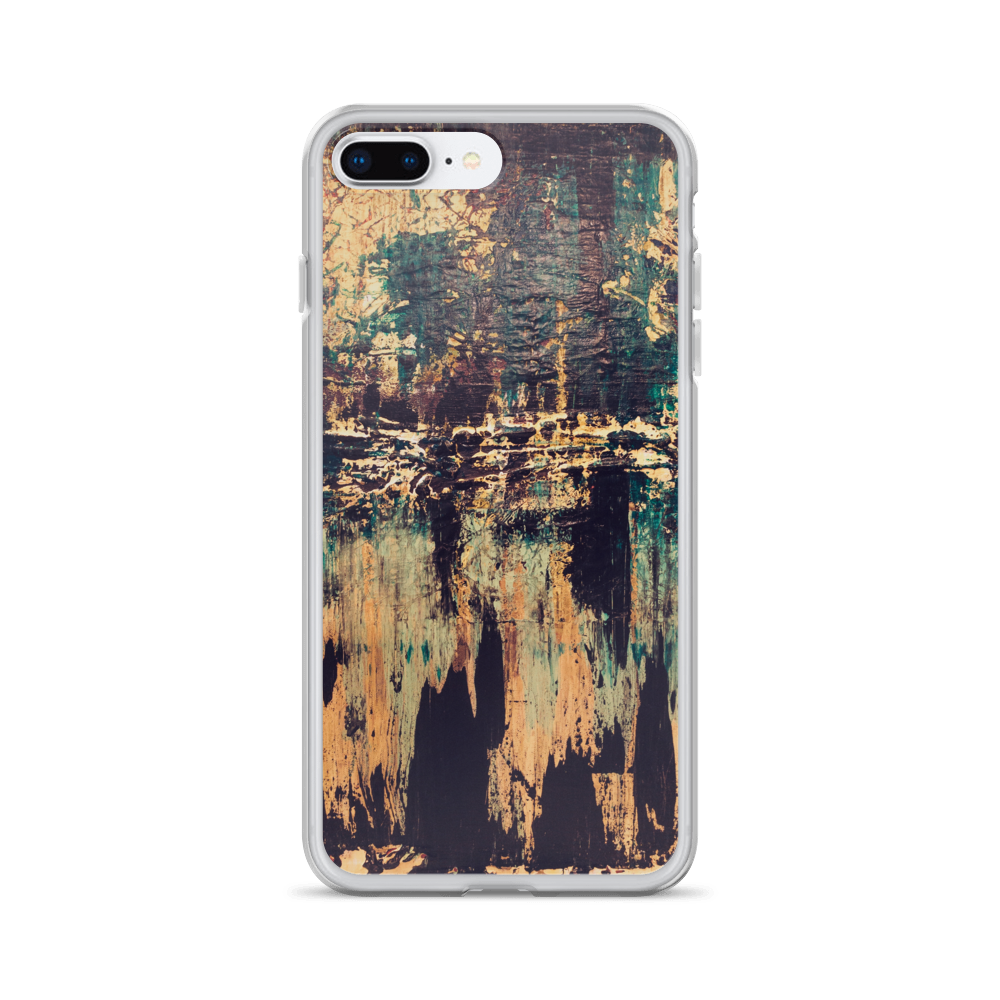 """Silhouette of a Rising Expression"" iPhone Case"