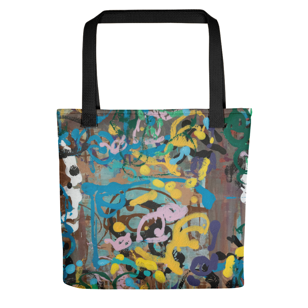 """Ode to a Perky Reef"" Tote Bag"