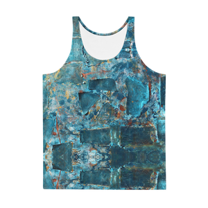 """Emerald Coast of a Fractional Future"" Tank Top"