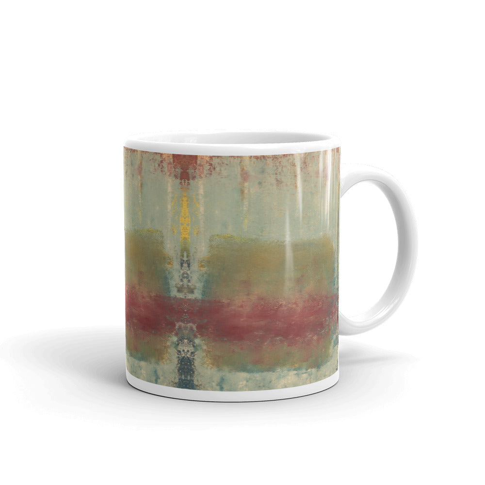 """Five Spikes in the Dirty Ice"" Mug"