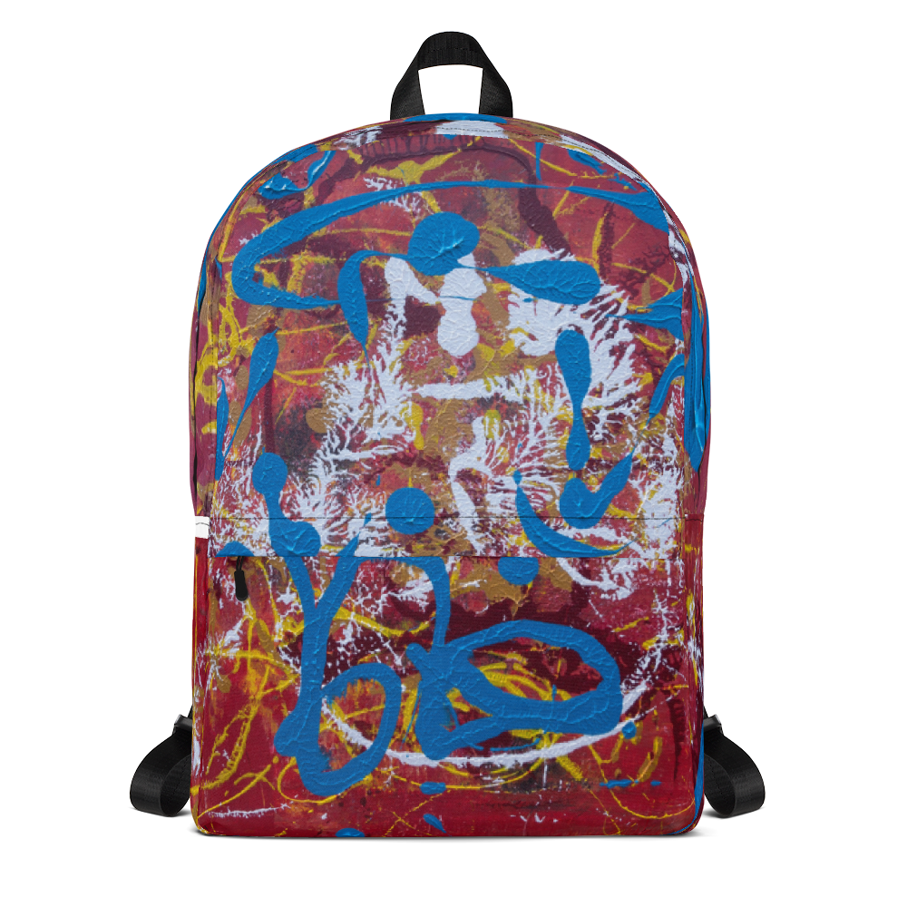 """Adventurous Extract from Torqued Morphism"" Backpack"