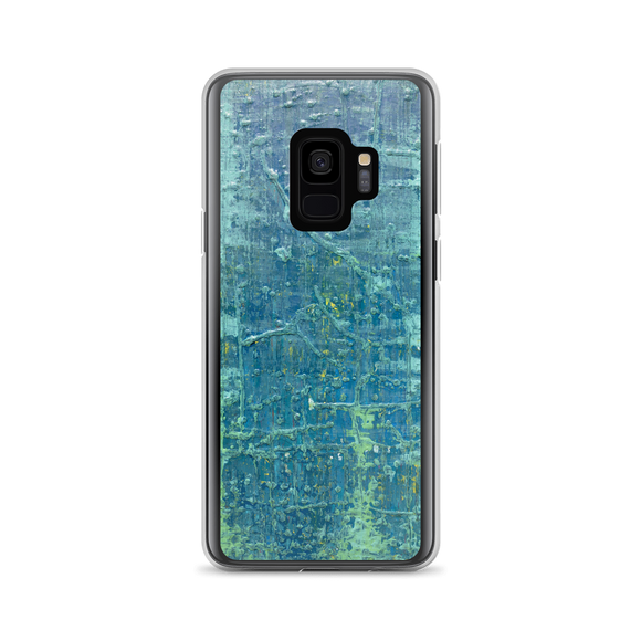 """Aerial View of an Emerald Seascape"" Samsung Case"