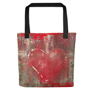"""Love is Messy"" Tote Bag"