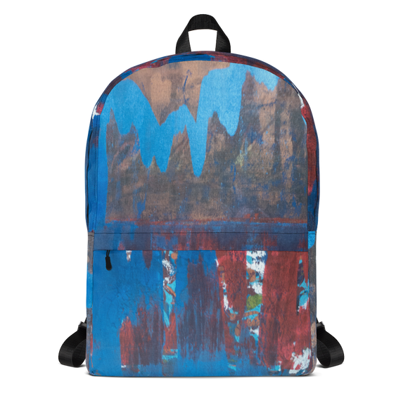 """Blue Maelstrom"" Backpack"