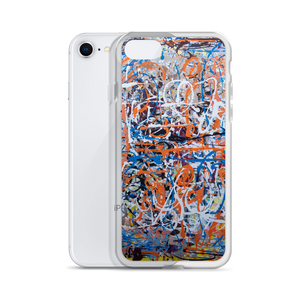 """Amorphous Sprawl"" Liquid Glitter Phone Case"