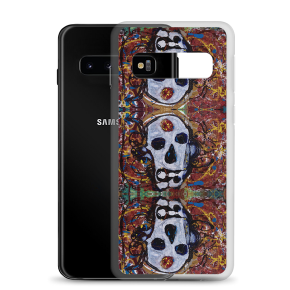 """Abstract Calavera"" Samsung Case"
