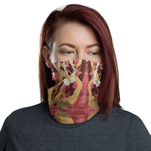 """Simulacrum of Movement"" Neck Gaiter Face Mask"
