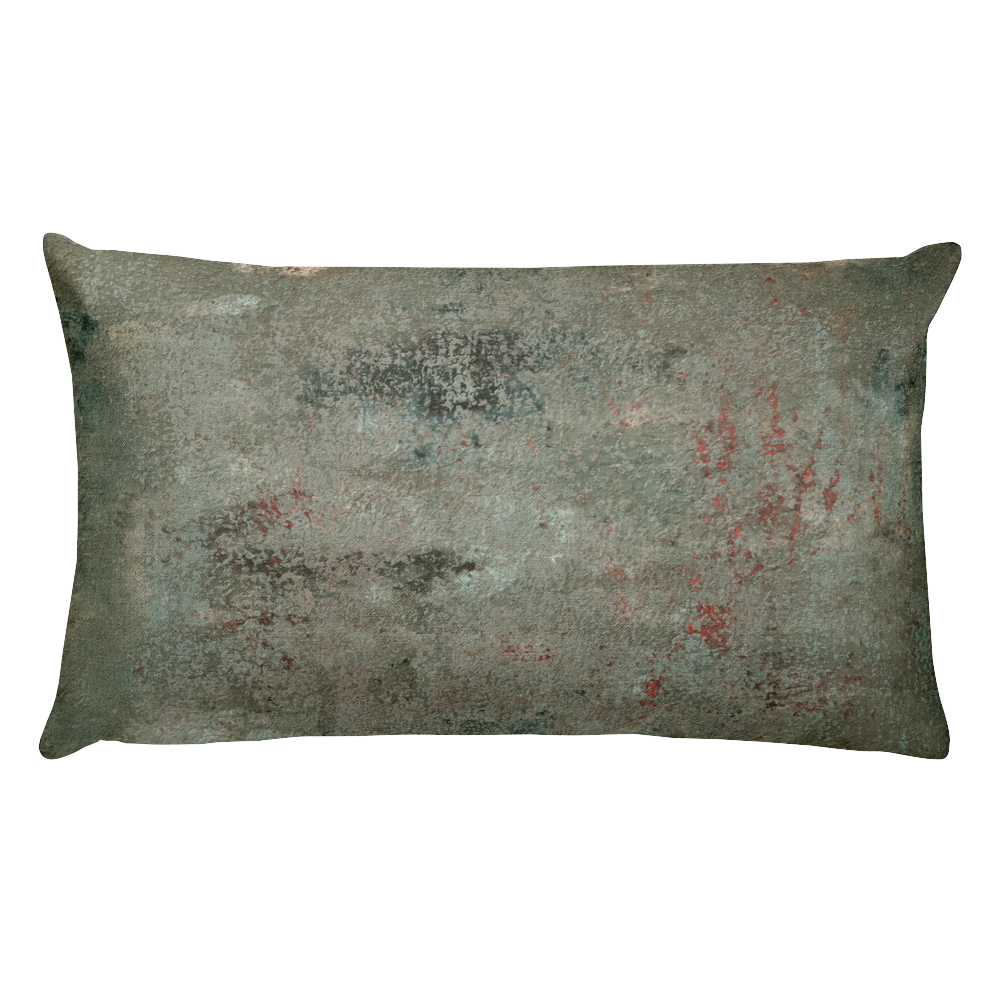 """Concrete Abstract #4"" Pillow"