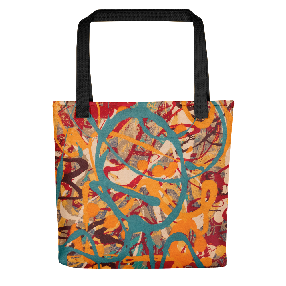 """Lighter Shade of Curvaceous Motion"" Tote Bag"