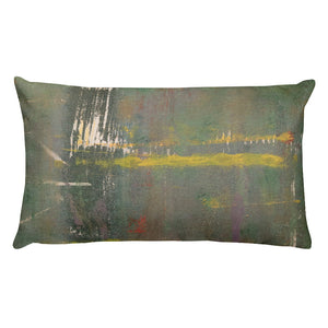 """Concrete Abstract #2"" Pillow"