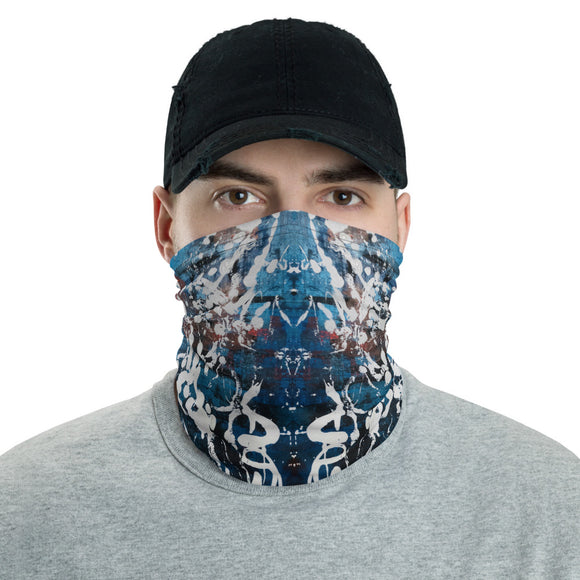 """Reappearance of Shapeless Creation"" Neck Gaiter Face Mask"