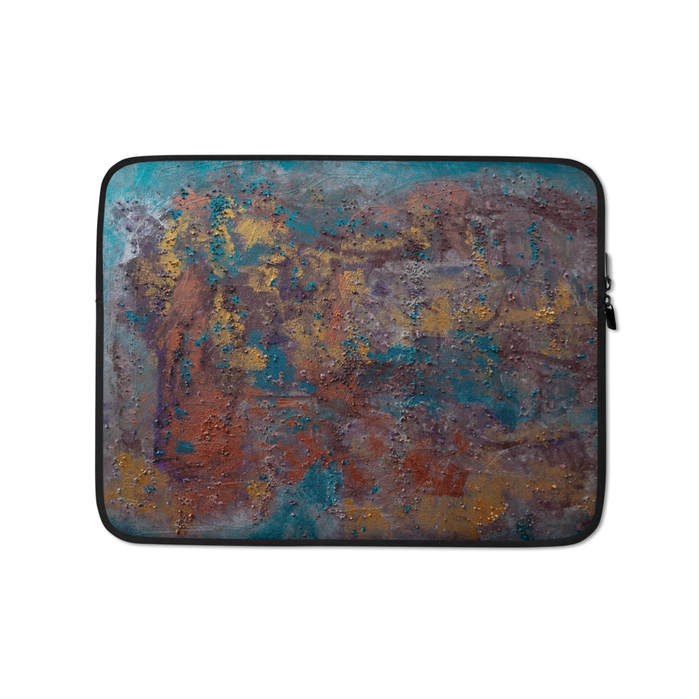 """Great Reef Burning"" Laptop Sleeve"