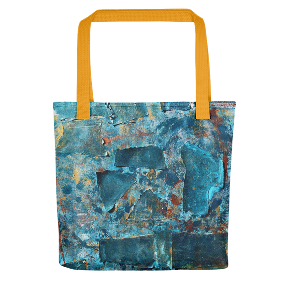 """Emerald Coast of a Fractional Future"" Tote Bag"