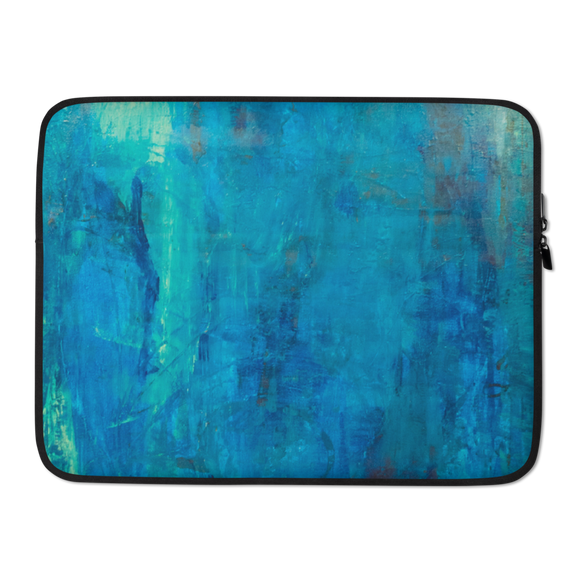 """Borealis Over the Sea"" Laptop Sleeve"