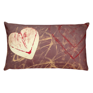 """Love is Unpredictable"" Pillow"
