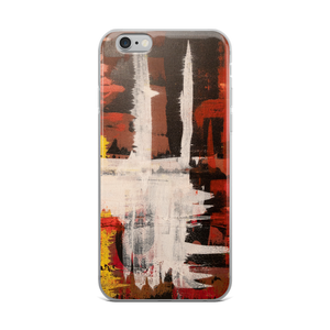 """Harlequin with a Glass Flattened by Gravity"" iPhone Case"