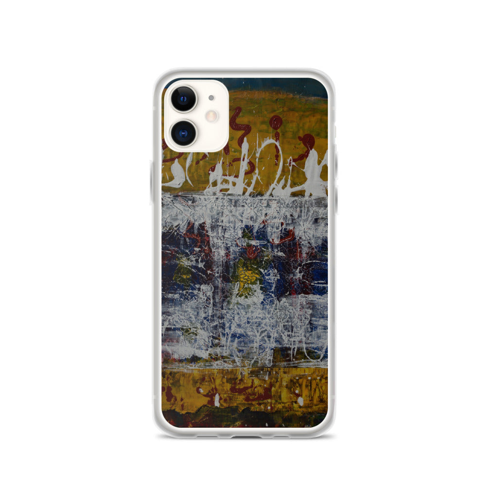 """Inverse Still Life of Unfolding Perception"" iPhone Case"