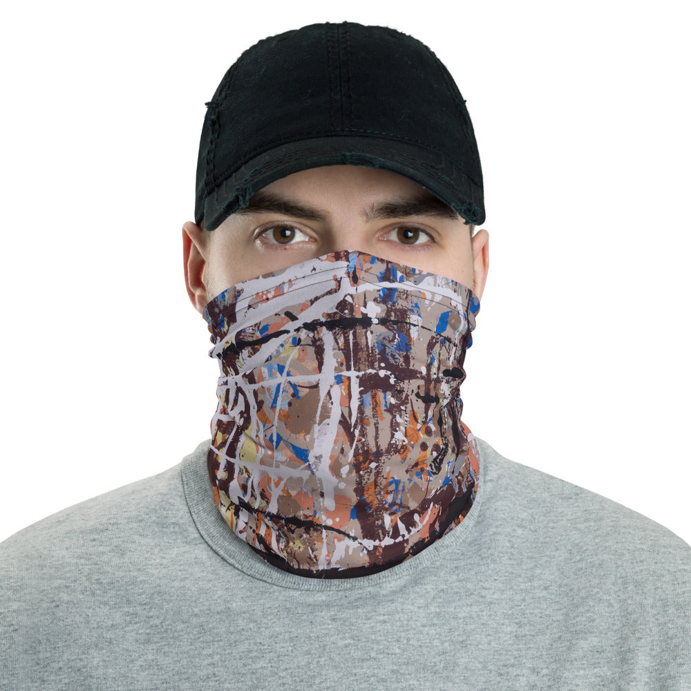 """Extract from Amorphous Conurbations"" Neck Gaiter Face Mask"