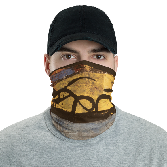"""Electric Silhouette of Bifurcated Interior"" Neck Gaiter Face Mask"