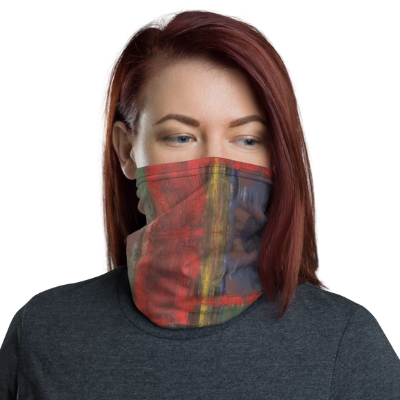 """Supellex Varia ad Angulum"" Neck Gaiter Face Mask"