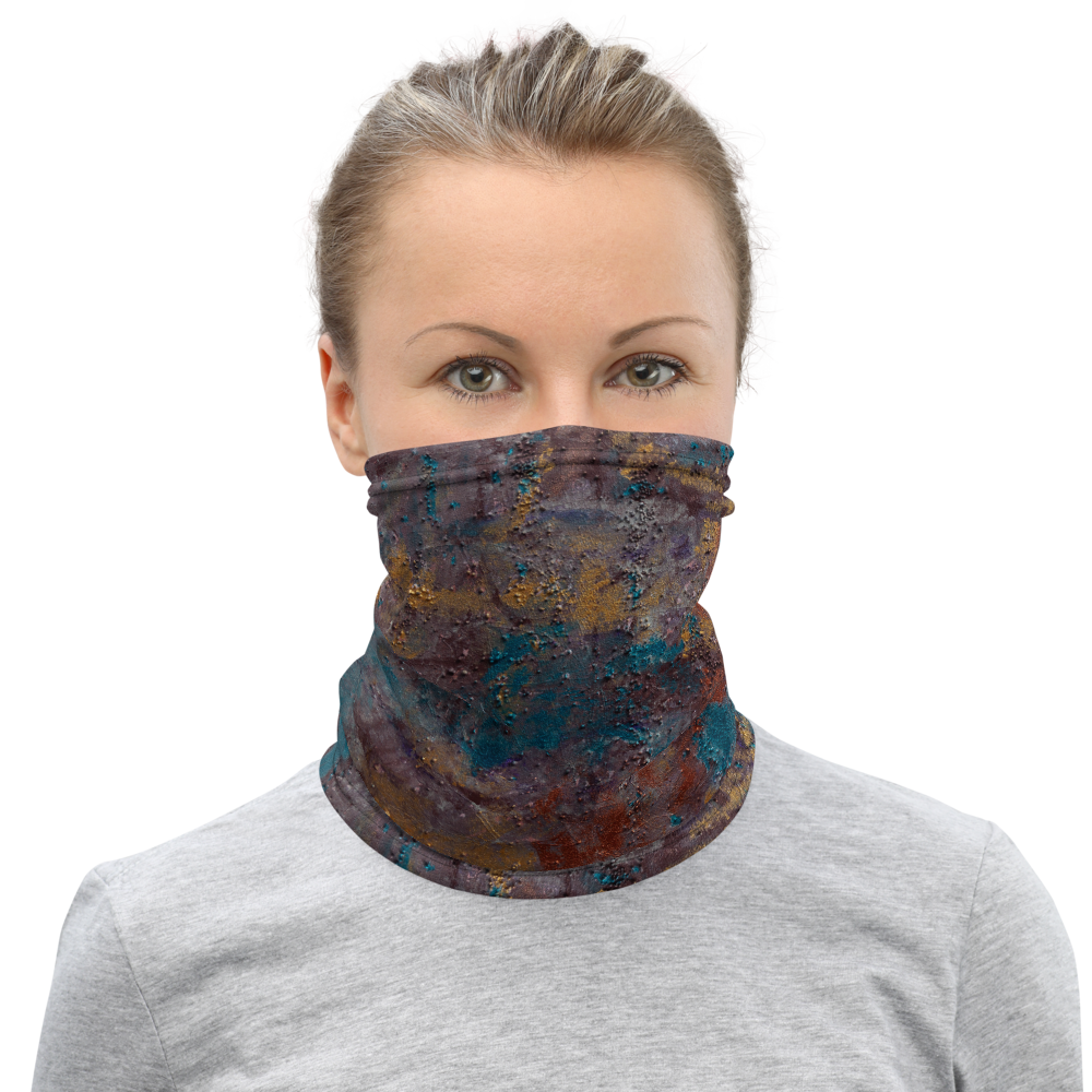 """Great Reef Burning"" Neck Gaiter Face Mask"