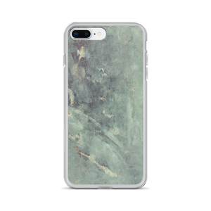 """Blue Concrete #1"" iPhone Case"
