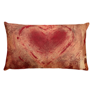 """The Heart Prevails"" Pillow"