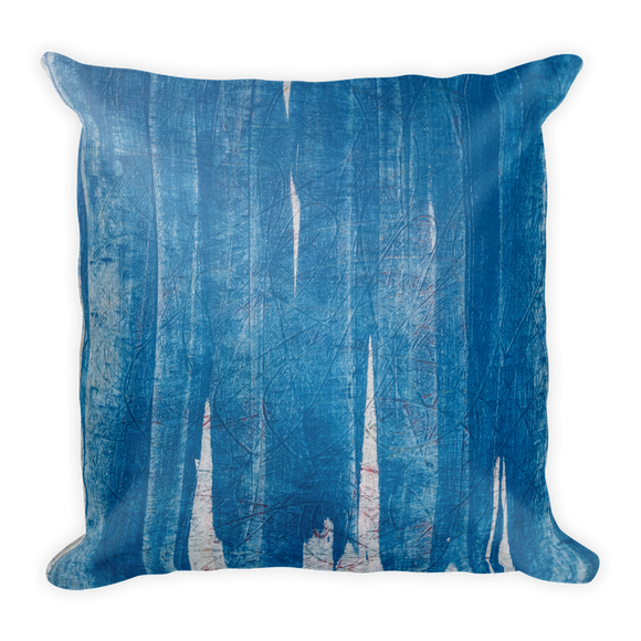 """Ice on Europa"" Pillow"