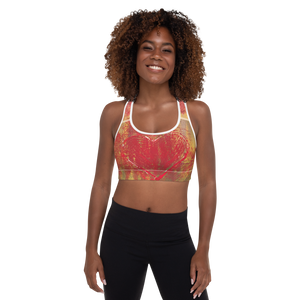 """Resonating Heart"" Padded Sports Bra"