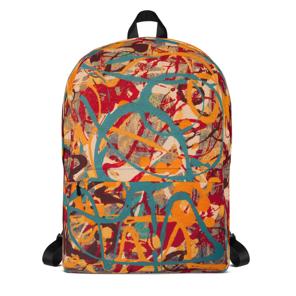 """Lighter Shade of Curvaceous Motion"" Backpack"