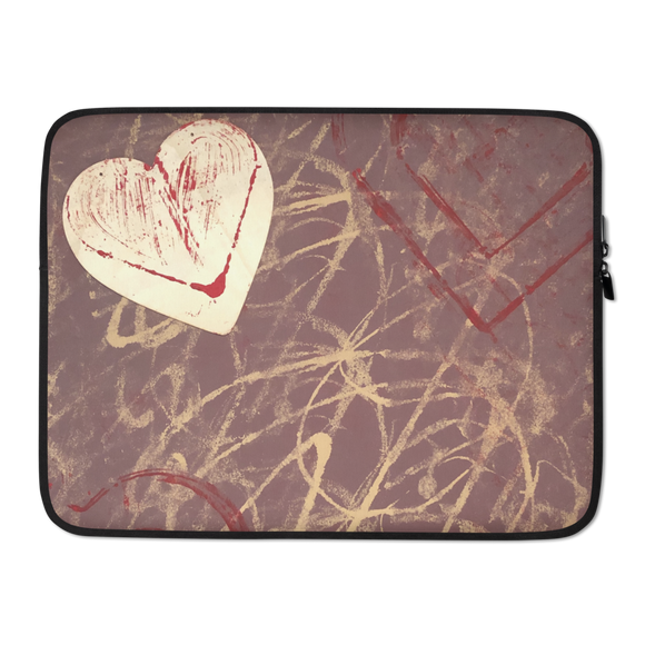 """Love is Unpredictable"" Laptop Sleeve"