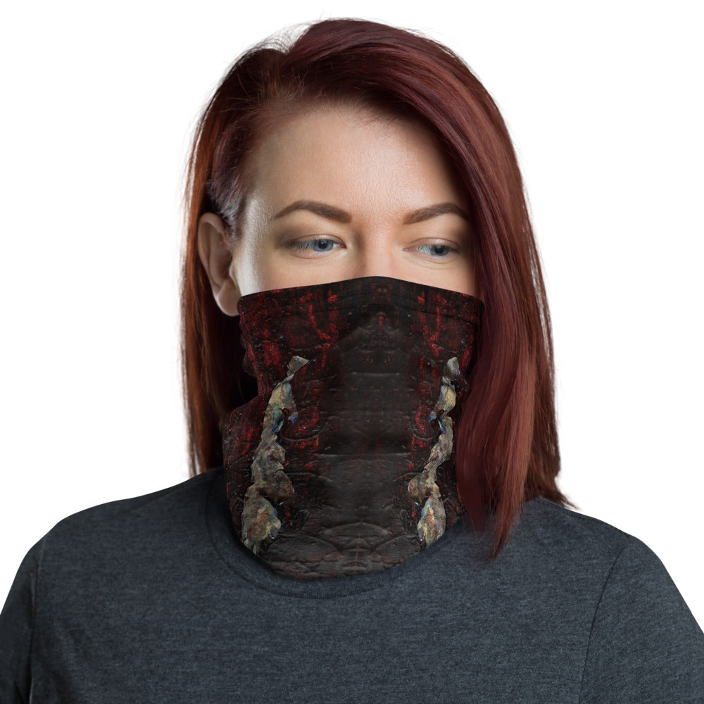 """Fragment of Eternal Despair"" Neck Gaiter Face Mask"