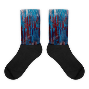 """Manifesto of Formless Exclusion"" Socks"