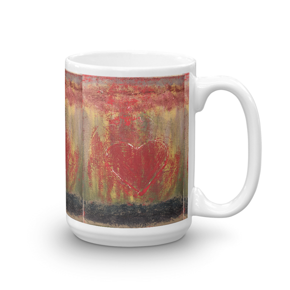 """Resonating Heart"" Mug"