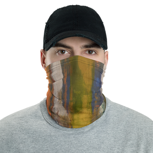 """Reflections on the Canal at Twilight"" Neck Gaiter Face Mask"