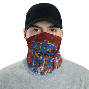 """Adventurous Extract from Torqued Morphism"" Neck Gaiter Face Mask"