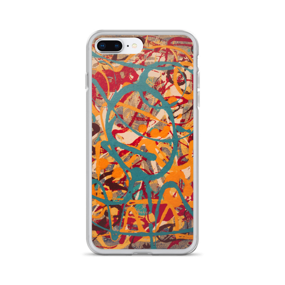 """Lighter Shade of Curvaceous Motion"" iPhone Case"