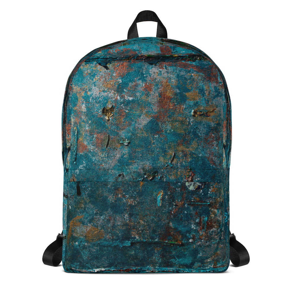 """Fragment of a Rusted Interior Magnified"" Backpack"