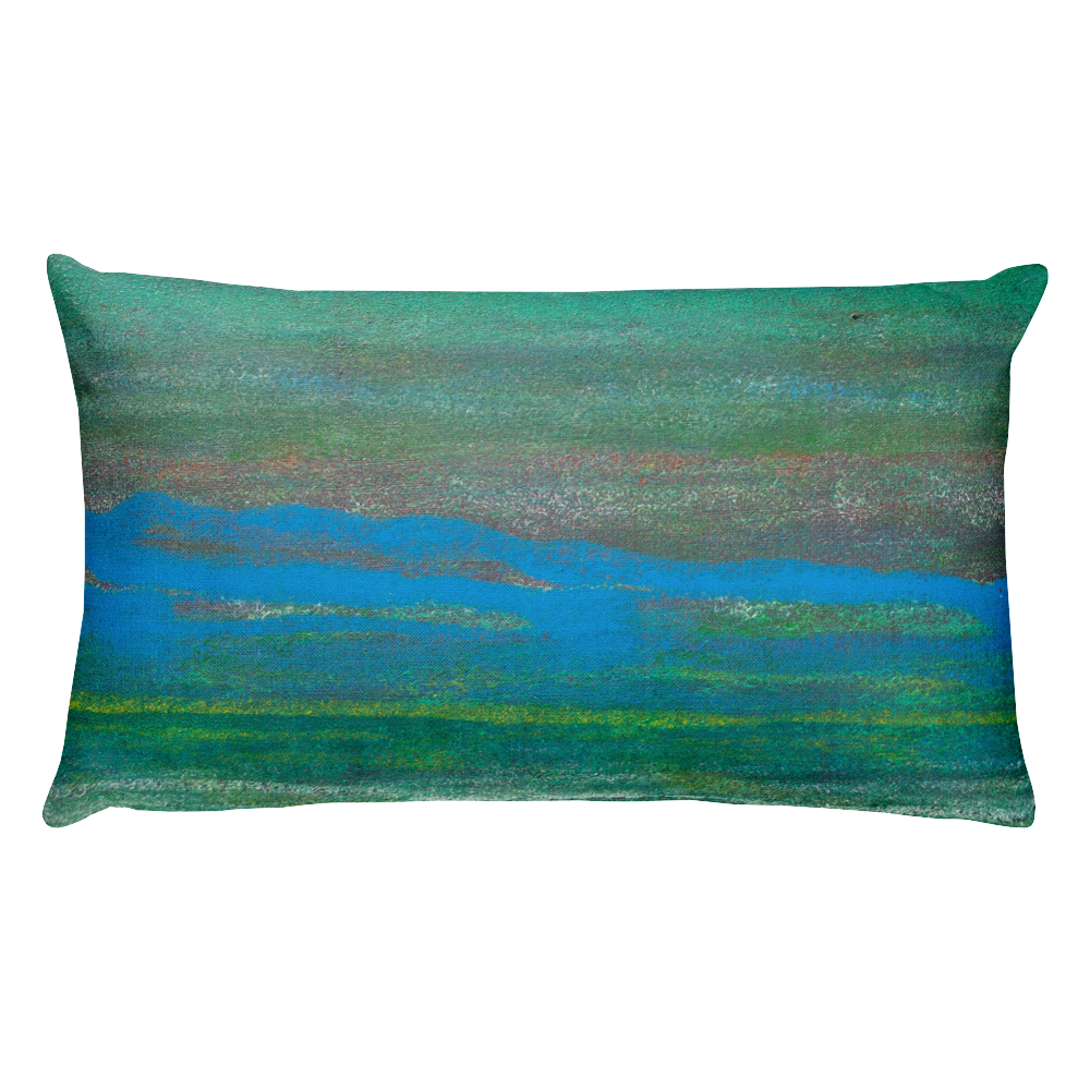 """Lillie's on the Pond"" Pillow"