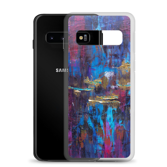 """Disjointed Brushstrokes Rearranged"" Samsung Case"