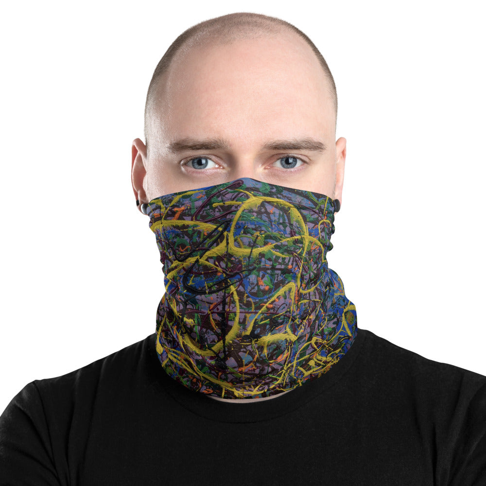 """Suspicious Act of Ecstasy Transmorgified"" Neck Gaiter Face Mask"