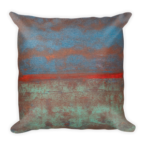 """Steam Up, Mist Over, Clouds Above"" Pillow"