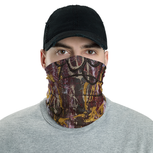 """Manifesto of Suspicious Emotion"" Neck Gaiter Face Mask"