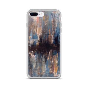 """Waveform of a Dreary Echo"" iPhone Case"