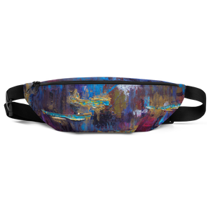 """Disjointed Brushstrokes Rearranged"" Fanny Pack"