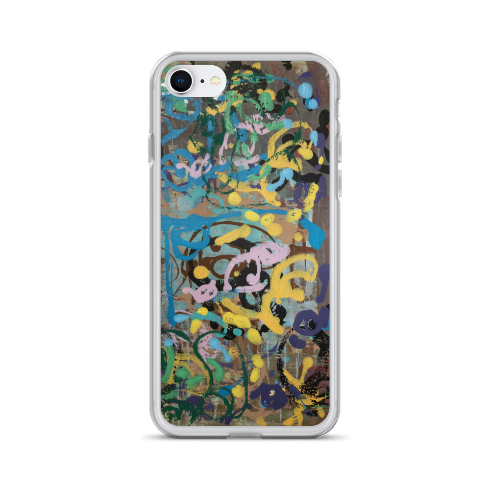 """Ode to a Perky Reef"" Liquid Glitter Phone Case"