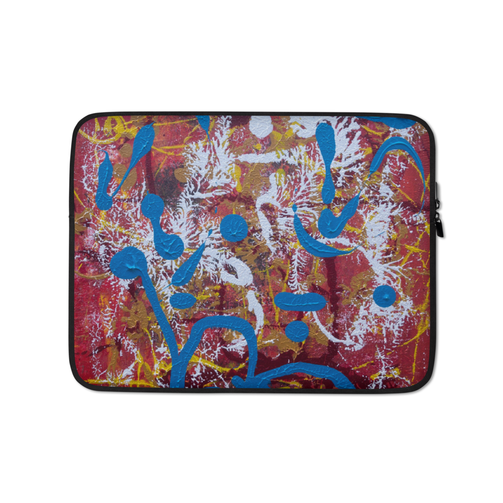 """Adventurous Extract from Torqued Morphism"" Laptop Sleeve"