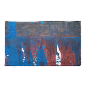 """Blue Maelstrom"" Pillow Case"